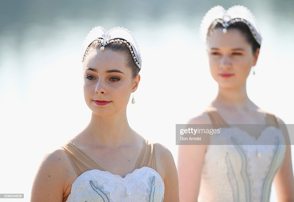 Ballet dancers look on during a media call for the Australian Ballet at Sydney International Regatta Centre on May 6, 2016 in Sydney, Australia.