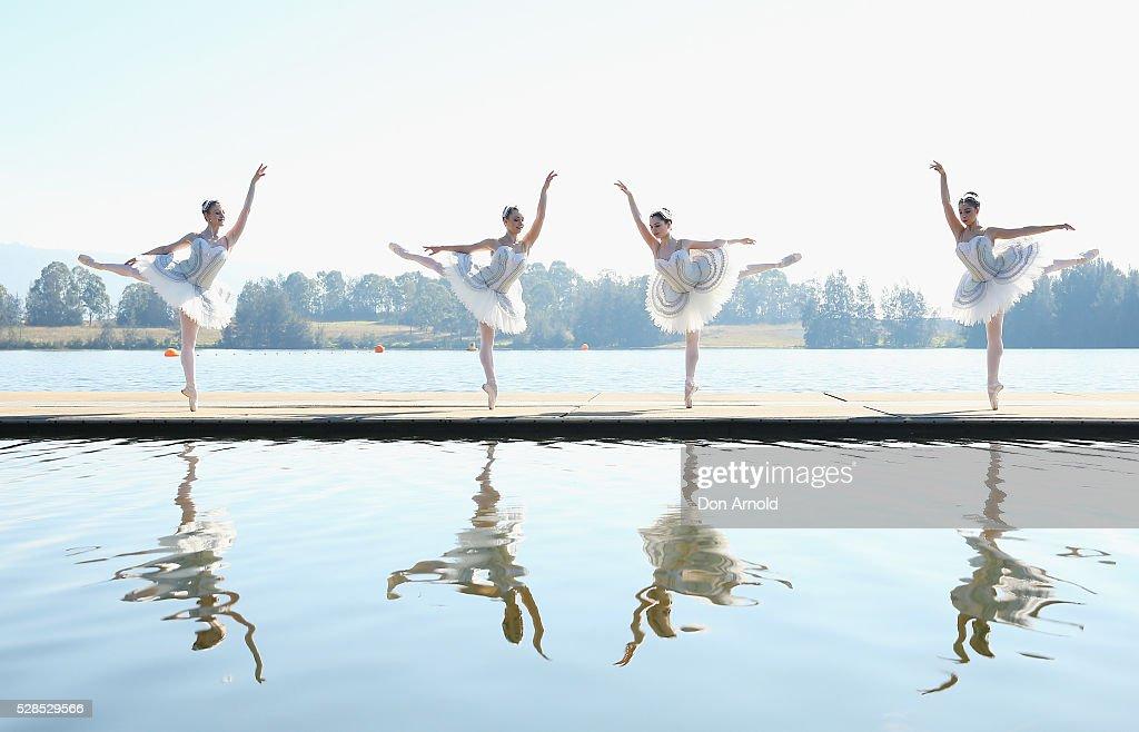 Ballet dancers perform during a media call for the Australian Ballet at Sydney International Regatta Centre on May 6, 2016 in Sydney, Australia.