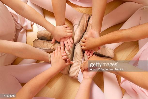 Ballett feets und Hände