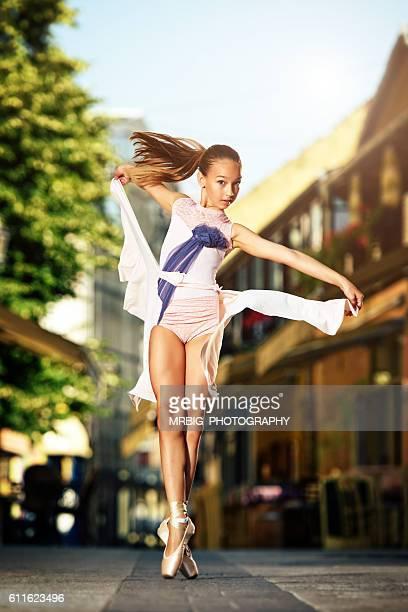 Ballet Performance on the Street