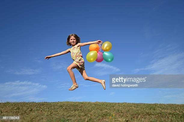 Balloon aided flight!