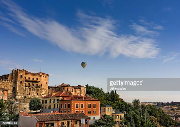 Balloon in Segovia
