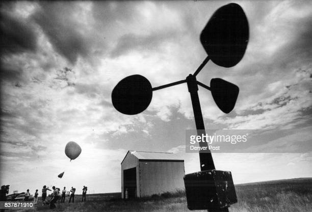 JUL 20 1976 SEP 6 1976 balloon is launched to which appear atmosphere weather Credit The Denver Post