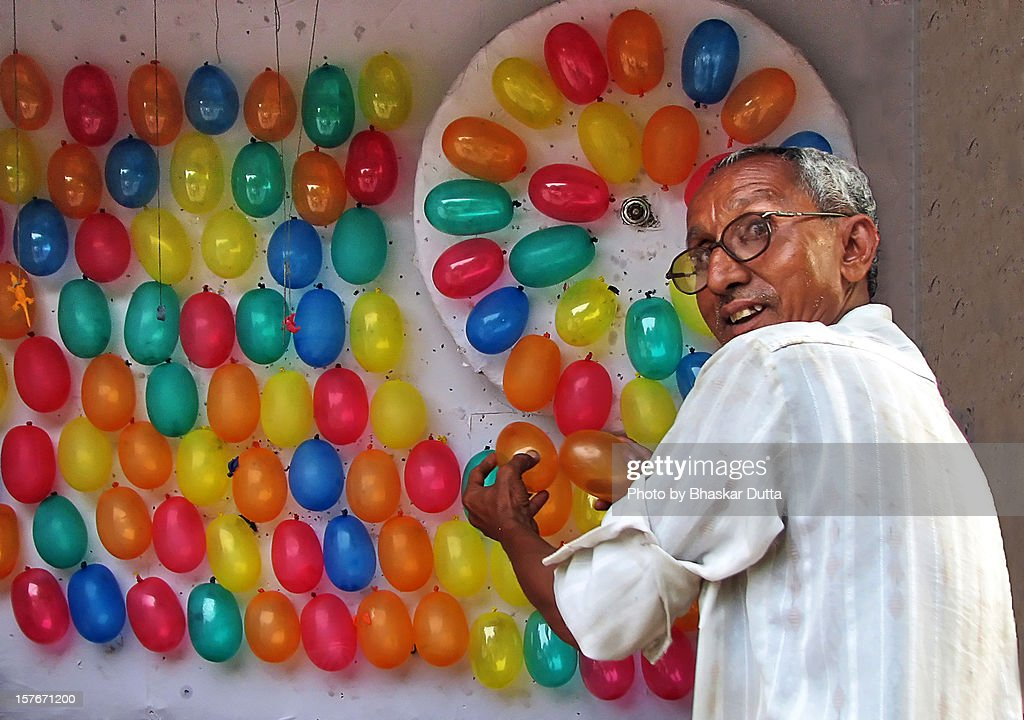 Balloon Man : Stock Photo