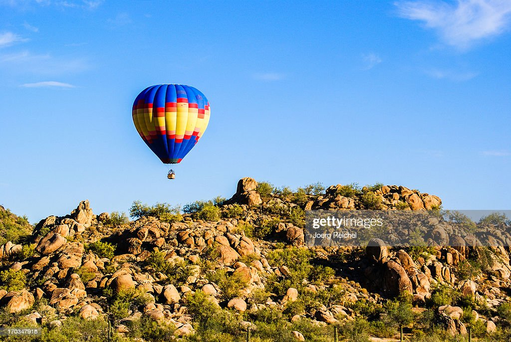 Balloon over Sonora Dessert