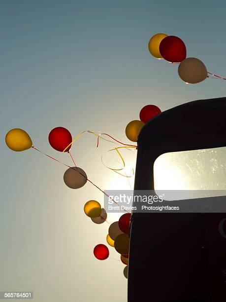 Balloon party bus