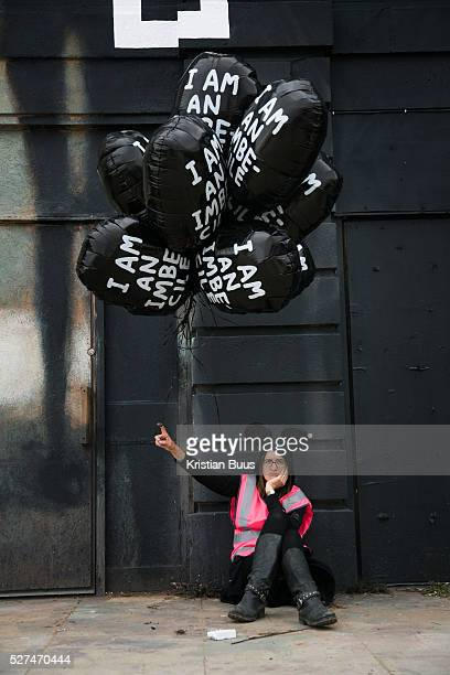 Balloons by David Shrigley On the first day the show is open only a thousand locals who won free ticket gets an advanced entry to the showDismaland a...