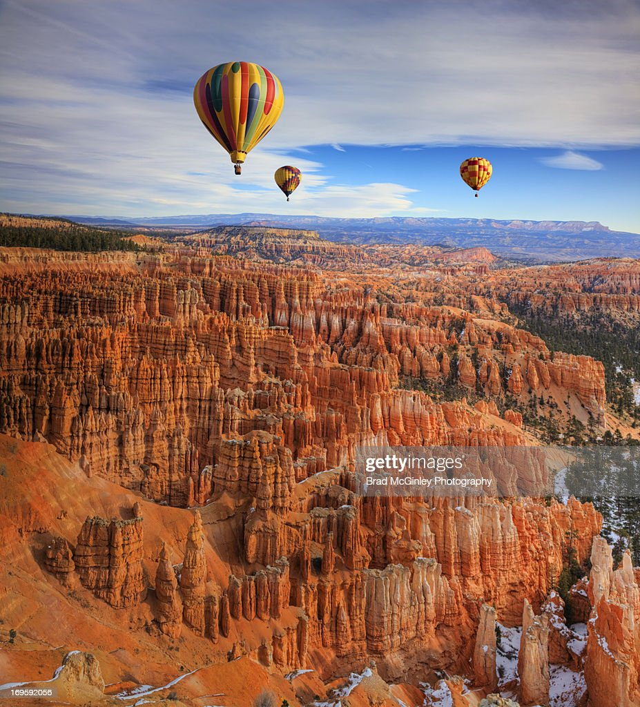Balloons over Bryce Canyon