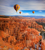 Balloons over Bryce Canyon