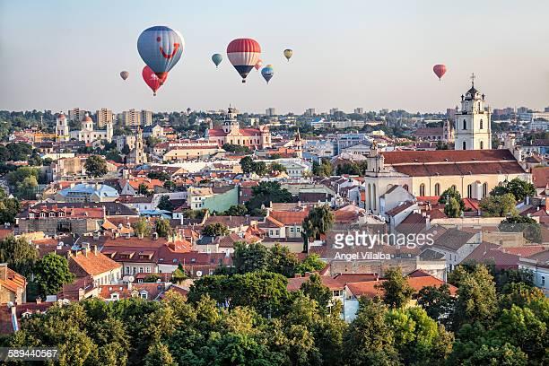 Balloons over Vilnius