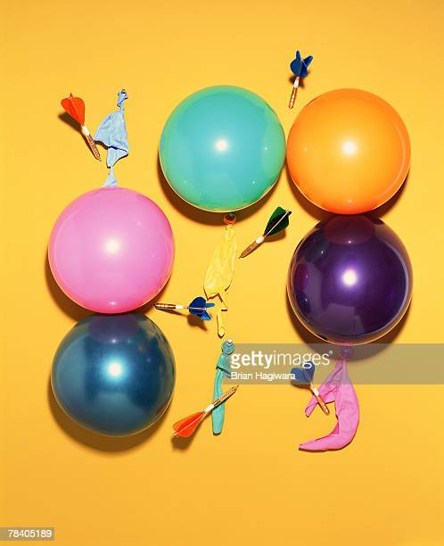 Balloons with darts
