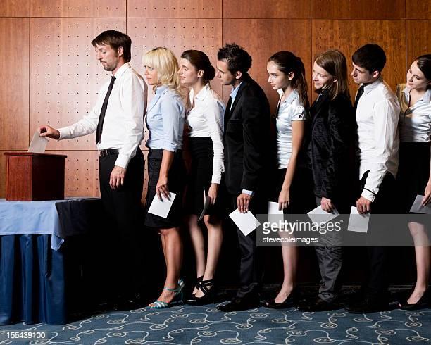 Wahlurne Abstimmung