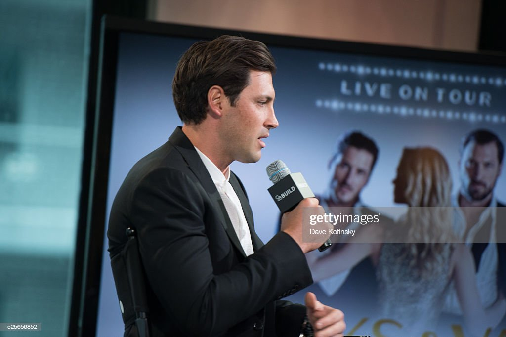 Ballroom Dance Champion Maksim Chmerkoviskiy speaks at AOL Build at AOL Studios In New York on April 28, 2016 in New York City.