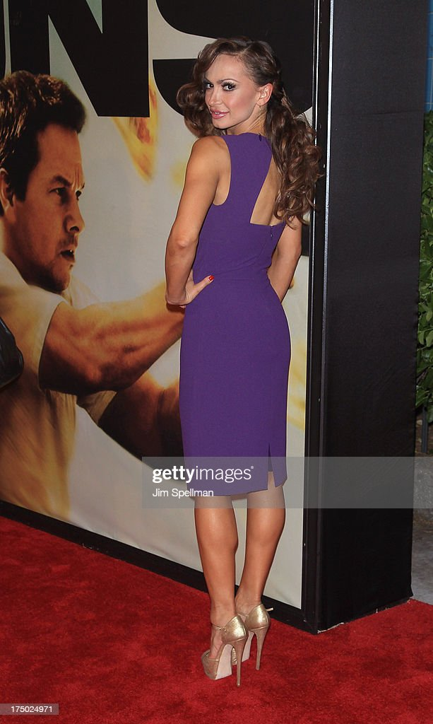 Ballroom Dancer Karina Smirnoff attends the '2 Guns' New York Premiere at SVA Theater on July 29, 2013 in New York City.