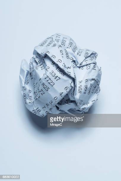 Balls of Paper with Figures