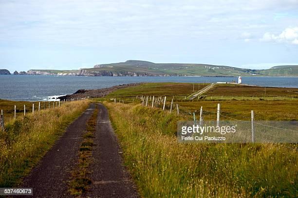 Ballyglass lighthouse Broadhaven bay County Mayo