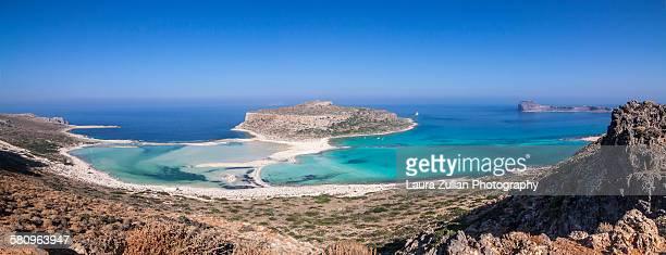 Balos beach pano