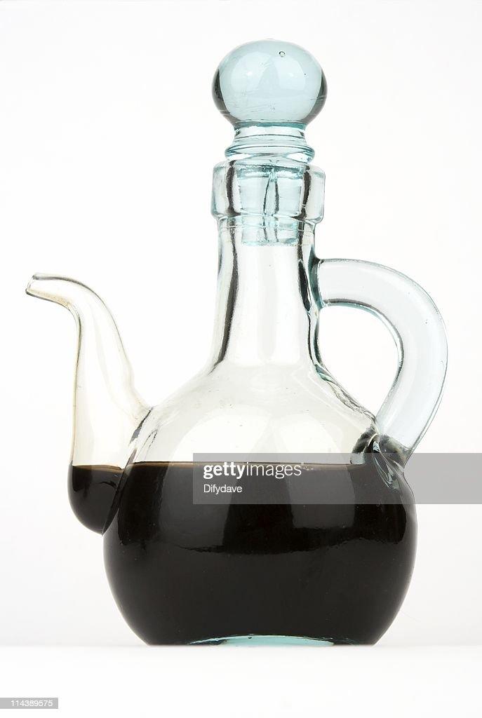 Balsamic Vinegar In Glass Pourer