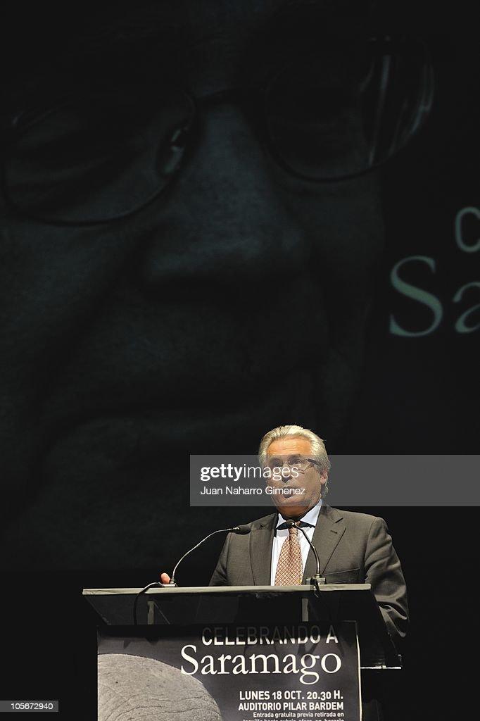 Celebrities Attend Jose Saramago's Tribute
