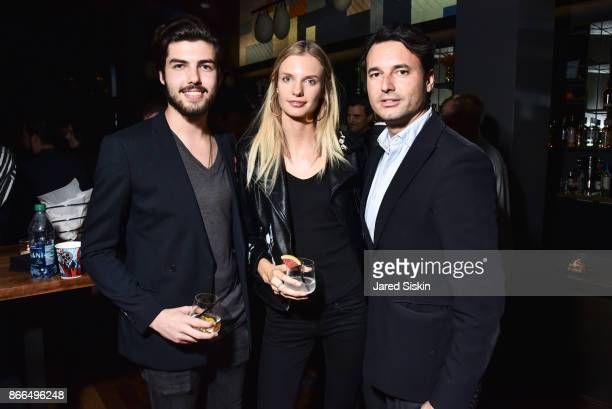 Balthazar Berger Isabella Oberg and Tommaso Benargo attend The Cinema Society Avion host a reception for DreamWorks and Universal Pictures' 'Thank...