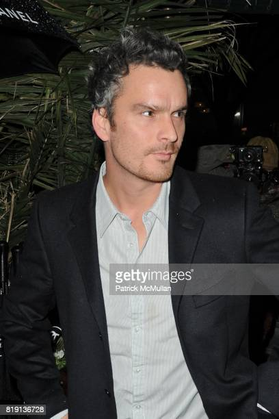 Balthazar Getty attends CHANEL and CHARLES FINCH Host a PreOscar Dinner Celebrating Film And Fashion at Madeo's on March 6 2010 in Los Angeles...