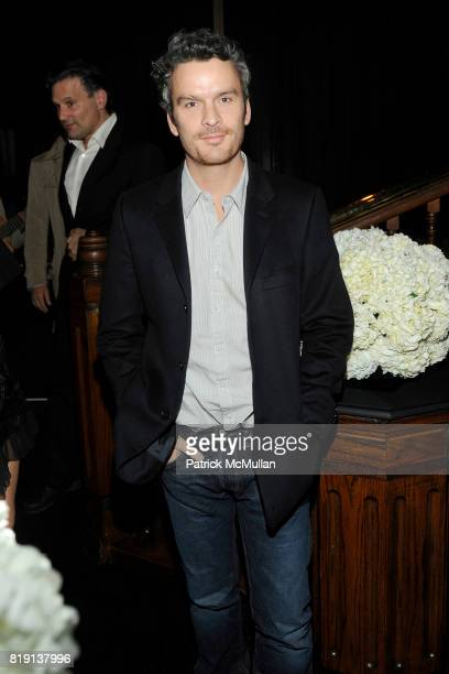 Balthazar Getty attends CHANEL and CHARLES FINCH PreOscar Dinner at Madeo Restaurant on March 6 2010 in Beverly Hills California