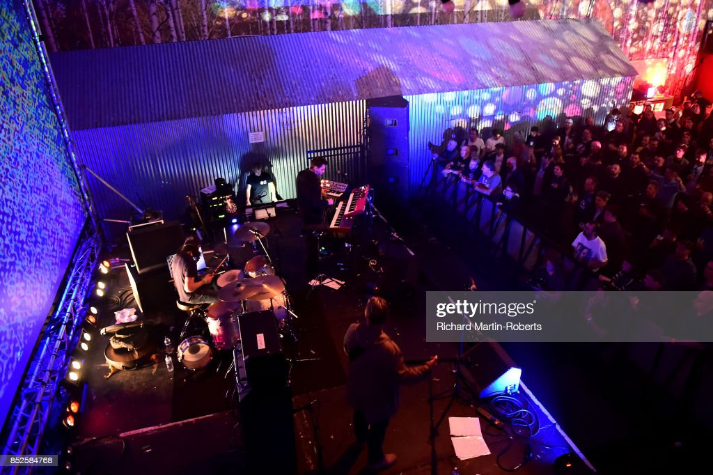 Baltic Fleet perform on stage during the Liverpool International Festival of Psychedelia on September 23, 2017 in Liverpool, England.