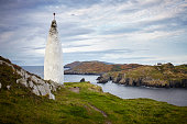 Baltimore Beacon und Sherkin Island, Irland, pillar of salt, Lot´s wife
