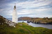 Baltimore Beacon und Sherkin Island, Irland, pillar of salt, Lot´s wife