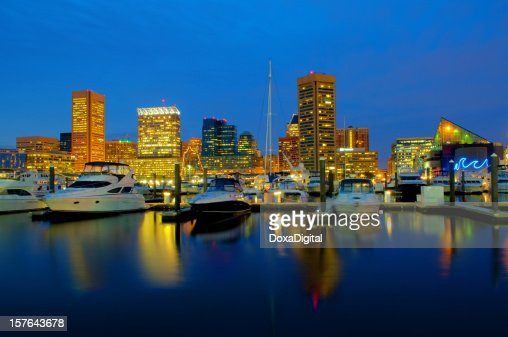 Baltimore Cityscape / Skyline