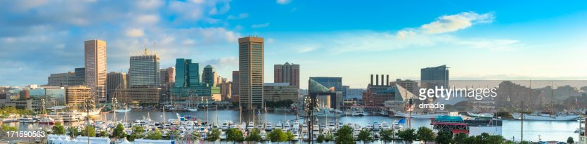 Baltimore Inner Harbor During 200th Anniversary of War of 1812