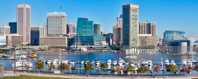 Baltimore Inner Harbor : Stock Photo