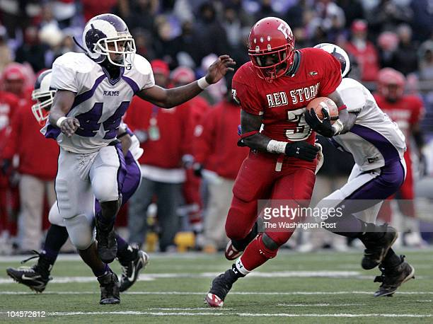 Baltimore MD Maryland Class 2A football state championship game at MT Bank Stadium in Baltimore on Saturday December 9 2006 McDonough defensive back...