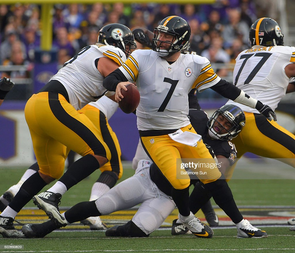 Pittsburgh Steelers at Baltimore Ravens | Getty Images