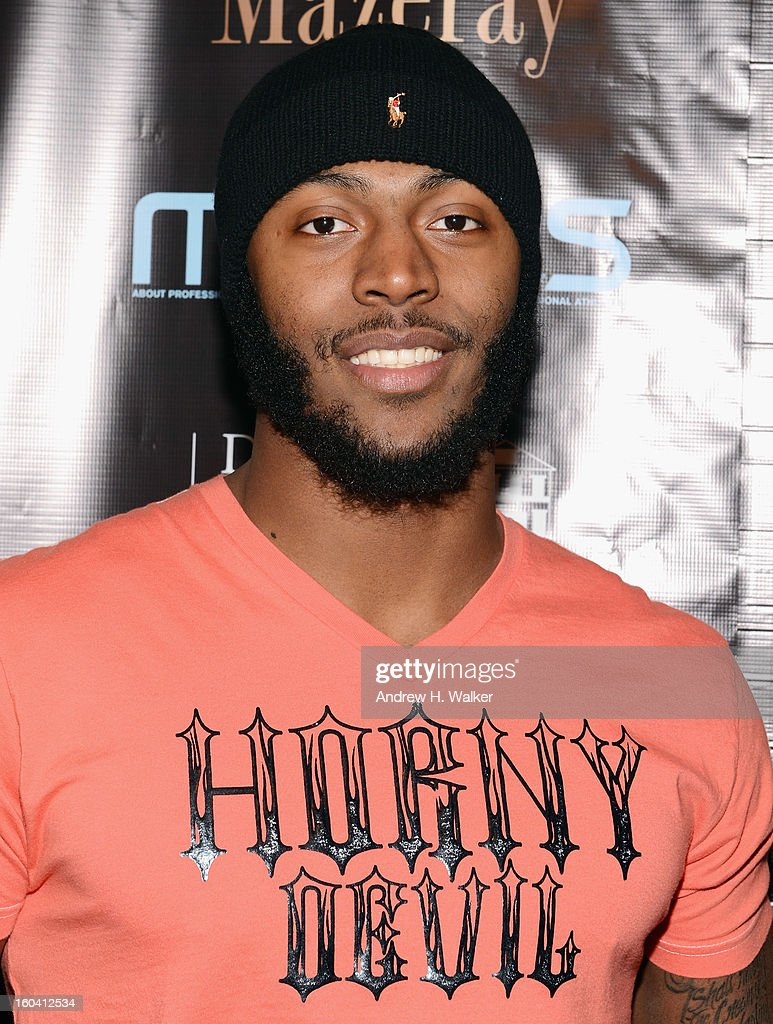 Baltimore Ravens running back Bernard Pierce attends the 6th Annual Moves Magazine Super Bowl Party at Metropolitan Nightclub on January 30, 2013 in New Orleans, Louisiana.