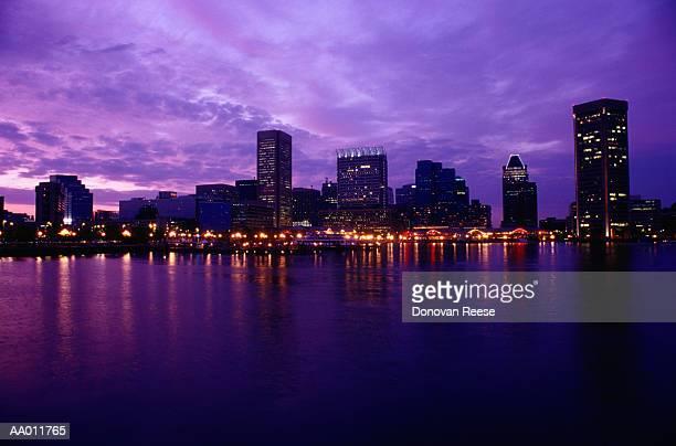 Baltimore Skyline and Chesapeake Bay