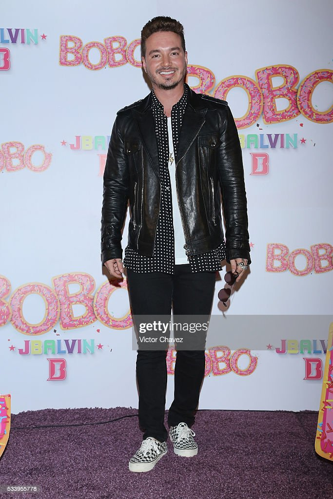 <a gi-track='captionPersonalityLinkClicked' href=/galleries/search?phrase=J+Balvin&family=editorial&specificpeople=9568411 ng-click='$event.stopPropagation()'>J Balvin</a> attends a press conference to promote his new single 'BoBo' at Universal Music on May 24, 2016 in Mexico City, Mexico.