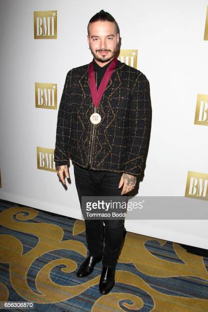 Balvin attends the 24th Annual BMI Latin Awards at the Beverly Wilshire Four Seasons Hotel on March 21 2017 in Beverly Hills California