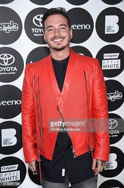 Balvin attends the People En Espanol's '50 Most Beautiful' 2015 Gala on May 12 2015 in New York City