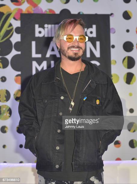 Balvin during The Billboard Latin Music Conference Awards THE BILLBOARD SUPERSTAR MANO A MANO panel at Ritz Carlton South Beach on April 25 2017 in...
