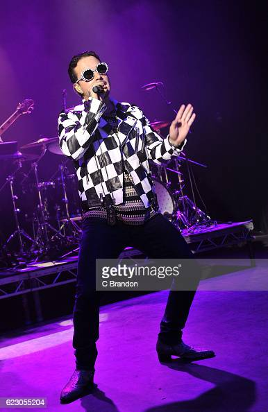 J Balvin performs on stage at the O2 Shepherd's Bush Empire on November 13 2016 in London England