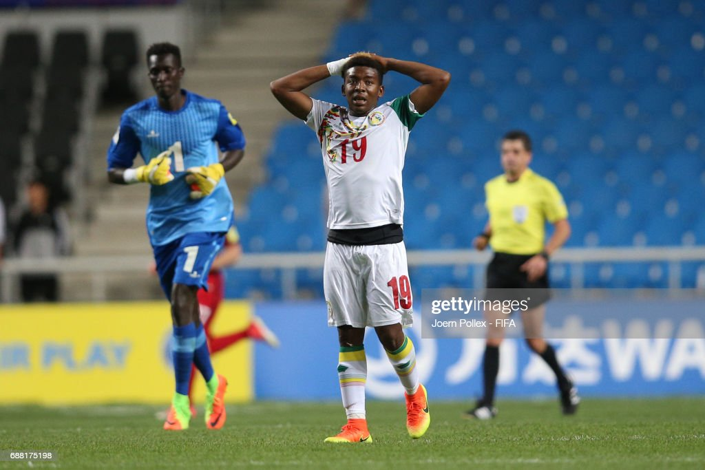 Bamba Kane of senegal is seen the FIFA U-20 World Cup Korea Republic 2017 group F match between Senegal and USA at Incheon Munhak Stadium on May 25, 2017 in Incheon, South Korea.