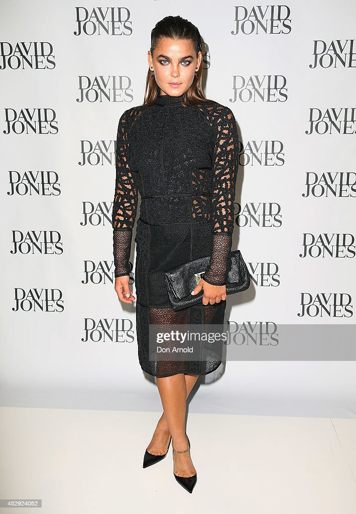 Bambi Northwood-Blyth arrives at the David Jones Spring/Summer 2014 Collection Launch at David Jones Elizabeth Street Store on July 30, 2014 in Sydney, Australia.