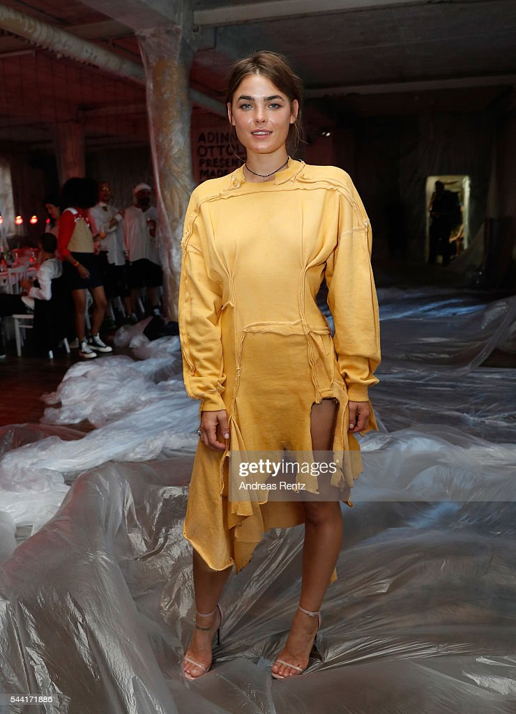 Bambi Northwood-Blyth attends the Made Berlin Dinner during the Mercedes-Benz Fashion Week Berlin Spring/Summer 2017 at Alte Teppichfabrik on July 1, 2016 in Berlin, Germany.