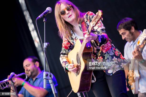 Bambikina performs on stage at Noches del Botanico on July 18 2017 in Madrid Spain