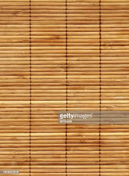 Caña de bambú alfombra