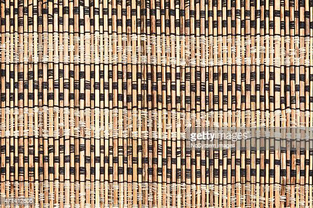 Bamboo cane matting
