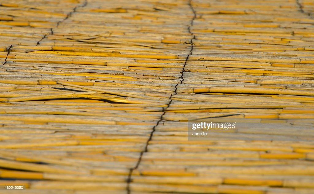 Valla de bambú : Foto de stock