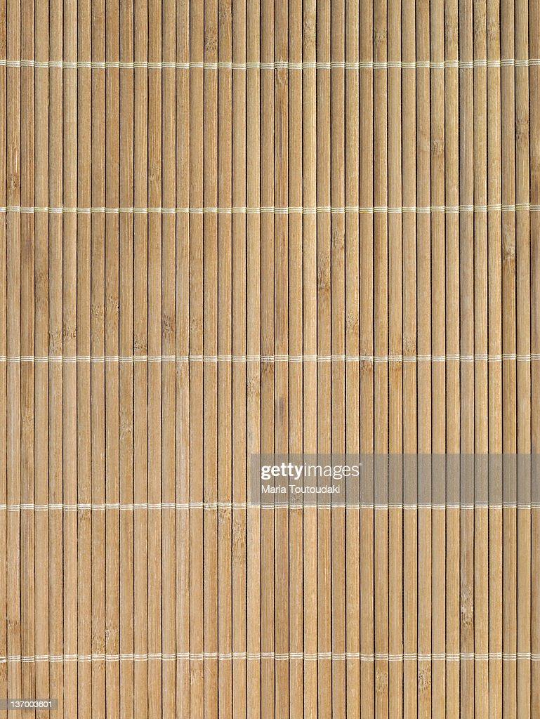 Bamboo mat : Stock Photo