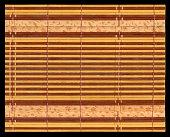 Bamboo mat texture